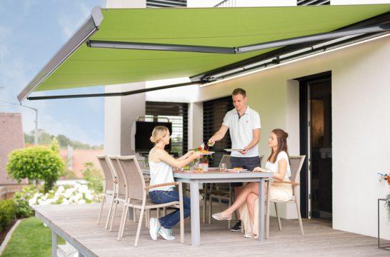 Die Markise für Ihre Terrasse